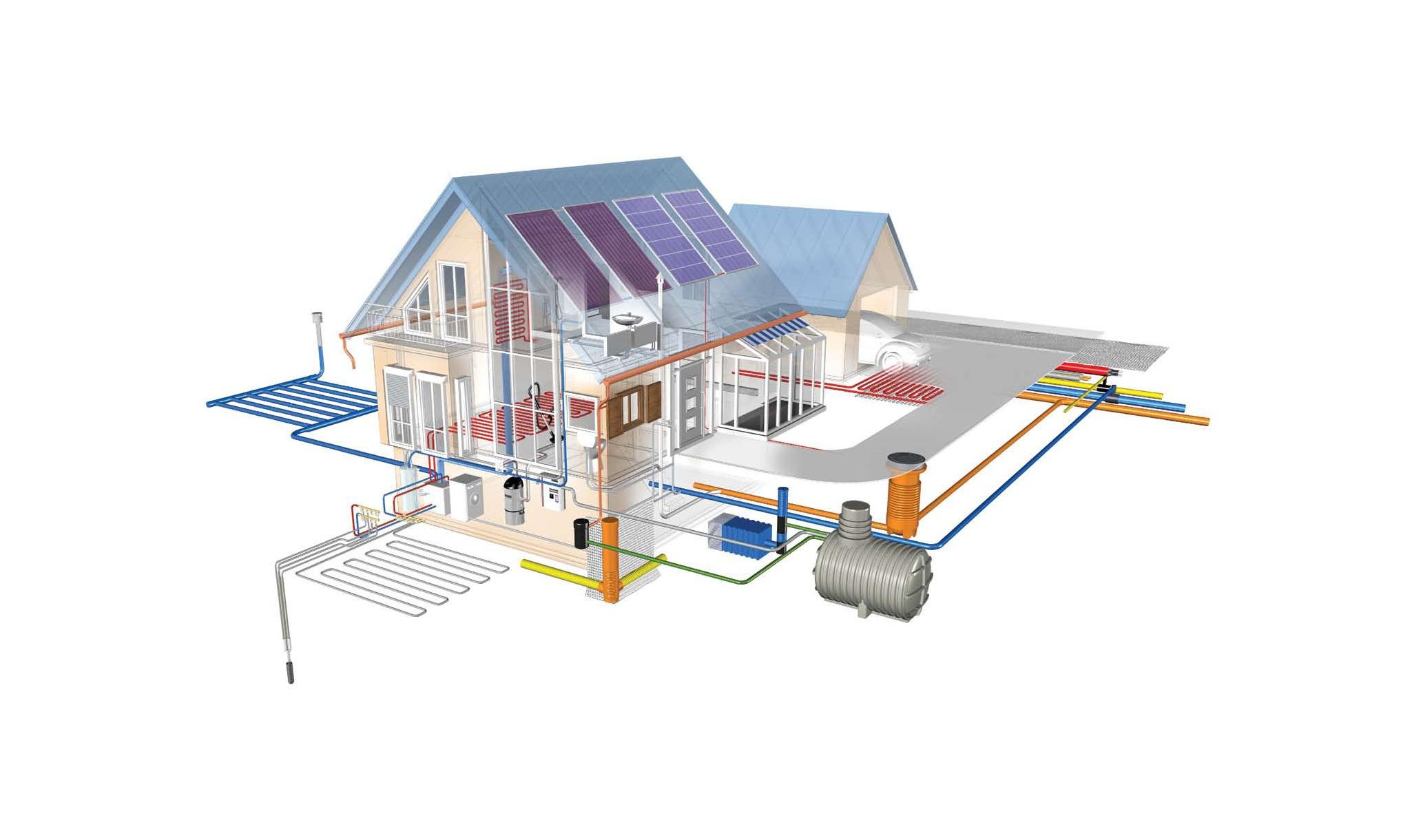 проектирование и монтаж систем водоснабжения и отопления